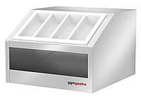 Прилавок для столовых приборов и посуды  BVI800-BT GGM