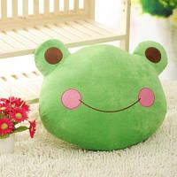 Модные Мультфильм Лягушки Принца Декоративные Подушки Зелёный