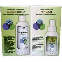 Набор: крем-бальзам «Мивал» и шампунь «ФлорасилиК»