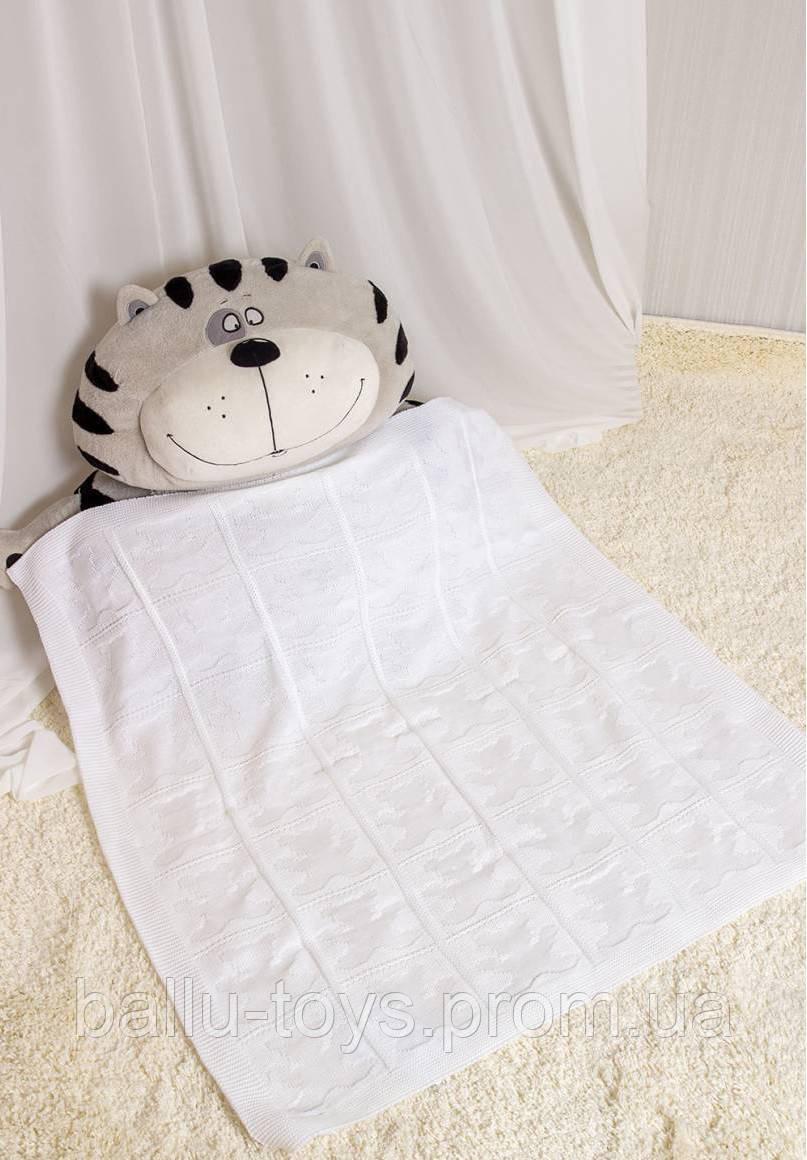 вязаный плед для новорожденных малышей мишутки продажа цена в