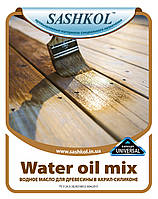 Масло для дерева на водной основе Water oil mix