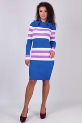 Платье с крупной вязкой - Лариса