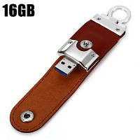 2 в 1 16GB OTG Micro USB+USB 3.0 портативный кожаный флэш накопитель 16GB