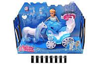 "Кукла ""Frozen"" с каретой в кор. /48"
