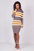 Зимние вязаное платье - Лариса