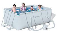 Каркасный бассейн BestWay SteelPro 56248 (287х201х100 см.) с фильтром-насосом, фото 1