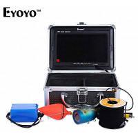 Eyoyo камера 1000tvl 15 м Искатель рыб видео Рыбалка камеры 15Вт с Видео