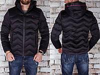 Мужская куртка зимняя утепленная до -15 Gucci  Турция Отличное качество