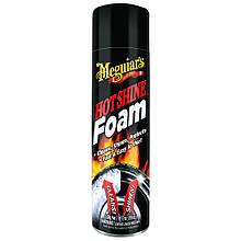 Пенный очиститель для шин - Meguiar's Hot Shine Foam 562 мл. черный (G13919)