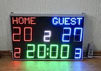 Спортивное универсальное табло с надписью HOME-GUEST
