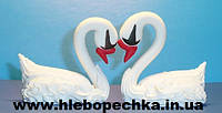 """Набор кондитерского декора """"Пара лебедей"""" (из сахарной пасты), фото 1"""