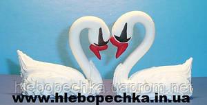 """Набор кондитерского декора """"Пара лебедей"""" (из сахарной пасты)"""