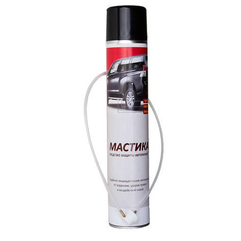 Аэрозольная антикоррозийная мастика 1 л Норма-Авто, фото 2