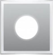 Подсветка LED декоративная BRILLANZA BZО, алюминий, холодный белый