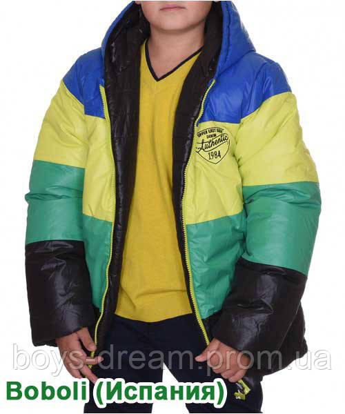 Зимняя двусторонняя куртка для мальчика 7-16 лет. Испания.