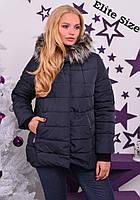 Зимняя куртка на синтепоне 200(размеры 44-52)