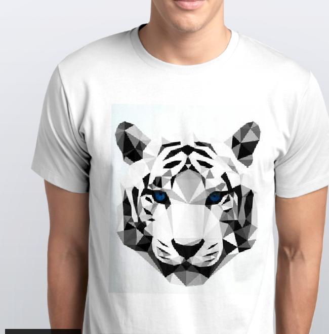 Футболка мужская тигр