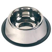 Миска  металлическая для собак/спаниель 0,9литра