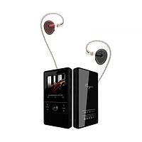 Цифровой аудио плеер Cayin N + Simgot EN700 Pro. Оснащен слотом для TF-карты, до 256 Гб