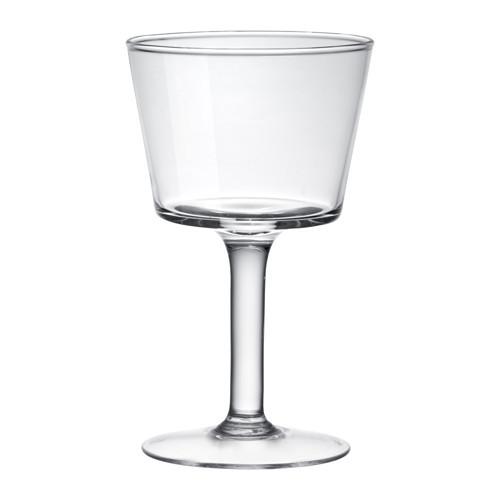 INNESLUTA Подсвечник для греющей свечи, прозрачное стекло, 17 см