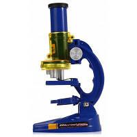 Микроскоп Комплект для детей раннего изучения образования Синий