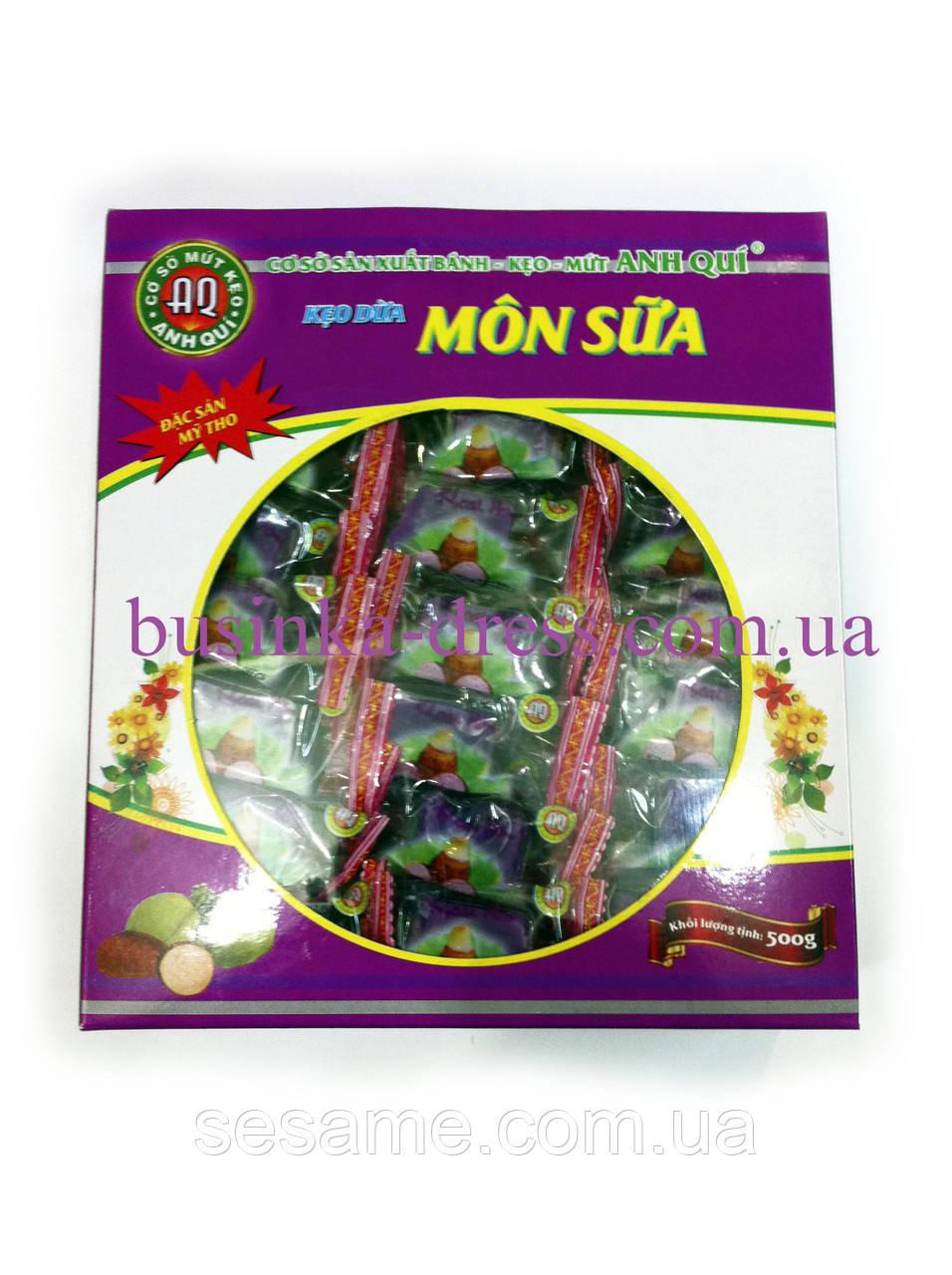 Кокосовые фруктовые натуральные конфеты 500г из Батат (Вьетнам)