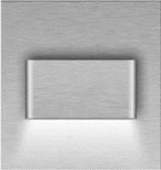 Подсветка LED декоративная MAGO1, сталь, тёплый белый, фото 1