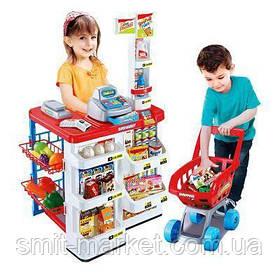 Магазин 668-01 с продуктами,тележка