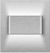 Подсветка LED декоративная MAGO2, сталь, тёплый белый, фото 1