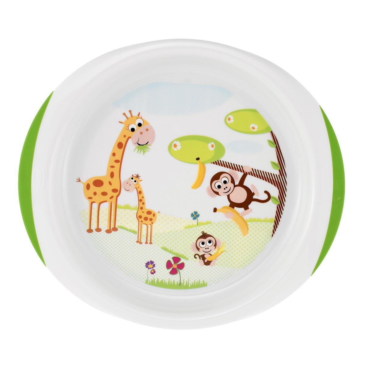Набор тарелок Chicco , 2шт. (12+)