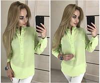 Женская модная блузка - рубашка  НН8