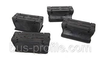 Комплект подушек передней рессоры (пластик) MB Sprinter 96- — Solgy — 201051