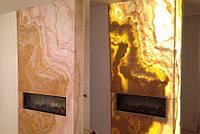 Оникс с подсветкой, панно и панели