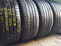 Шины бу 245/45 R18 Dunlop