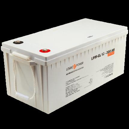 Гелевый аккумулятор Logic Power LPM-GL 12V 200AH (12 Вольт, 200 Ач), фото 2