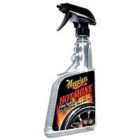 Meguiar's G12024 Полироль спрей для шин, прозрачный - G120 Hot Shine Tire Spray (710 мл.)