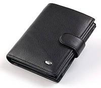 Мужской кошелек портмоне ST M24 черный, фото 1