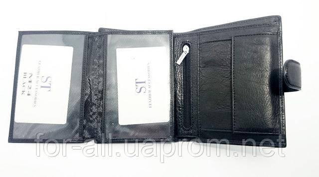Фото мужское портмоне ST M24 black в магазине Модная покупка