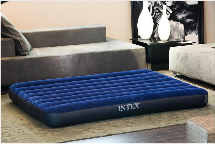 ДВУХСПАЛЬНЫЙ НАДУВНОЙ матрас матрац INTEX CLASSIC DOWNY BED 68759