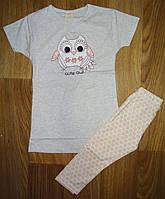 Пижама для девочек оптом, Hold Hands, 3-10 лет,  № 195945А