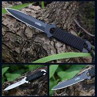 ЧИМА А18 нержавеющей стали фиксированным лезвием ножи Чёрный