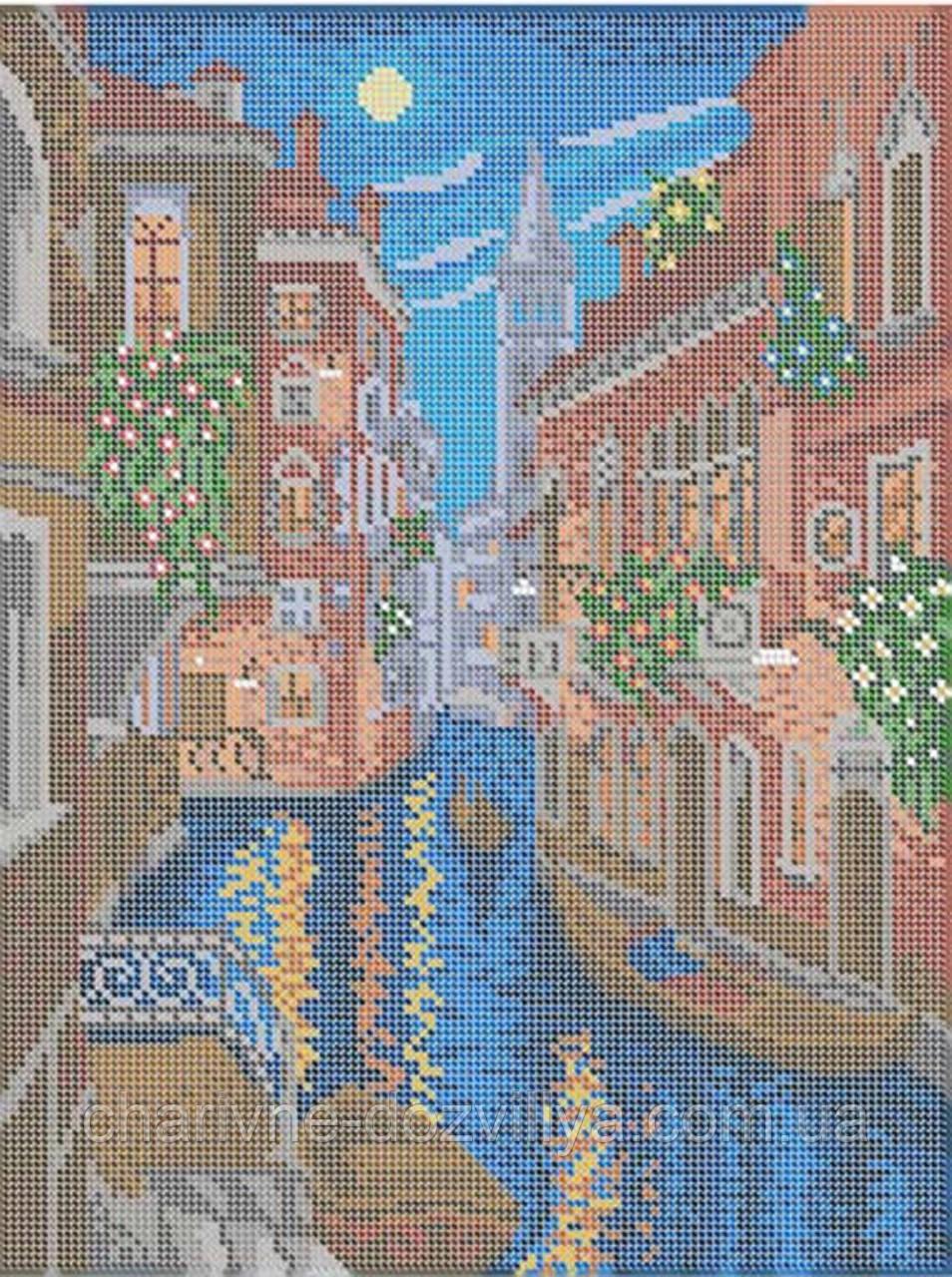 """Схема для вышивки бисером (бісером) на габардине """"Венеция"""""""