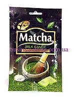 Конфеты со вкусом зелёного чая с молоком Matcha Milk Candy 25г. (Малазия)