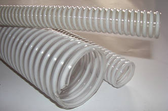 Рукав ПВХ и с ПВХ спиралью д. 100 мм