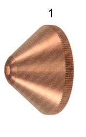 Экран 3,5 мм к плазмотрону Kjellberg® PB-S80® (t-10220) (завихрительный колпак)