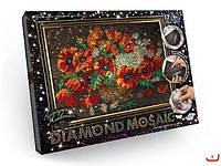 Набор для творчества Алмазная живопись Diamond mosaic РОЗА бол., в кор.,арт: 06858