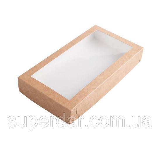 Коробка для пряников 210×110×30 мм., крафт