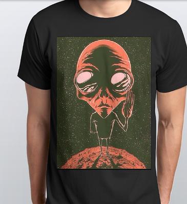 Футболки мужские, инопланетянин