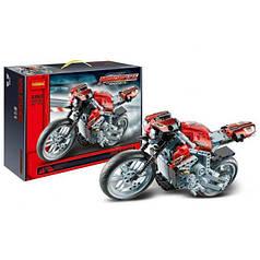 Конструктор Decool 3353 (аналог Lego Technik) «Спортивный мотоцикл» Motorcycle Exploitur, 431 дет