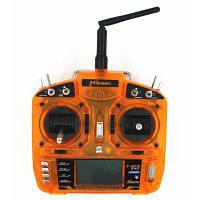 MKron Т-шести i6s по 2.4 G ЖК-экран 6-канальный уровень 2 переключателя-передатчик, совместимый с dsm2 приемник аксессуар для DIY модель Оранжевый